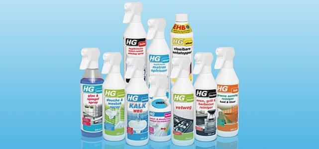 Voorkeur HG Schoonmaakbox t.w.v. €42,52* voor €24,95 PD63