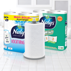 Nalys Vochtvangers Maxi Rol: nu met keukenrolhouder cadeau