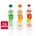12-pack Get More Vitamins drink t.w.v. €15,-* voor €6,95