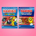 Haribo Kindermix óf Starmix: van €1,45* voor €0,-