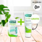 GUM Soft-picks Advanced met gratis GUM tandpasta (bij Etos)