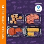 FiftyFifty 50% vlees 50% groente: van €2,79* voor €0,50