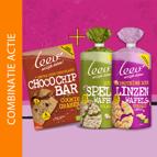Koop LEEV Choco chip Cookiebar & krijg gratis wafels