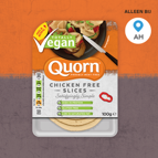 Quorn® Vegan Chicken Free Slices: van €2,35* voor €1,-