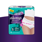 Always Discreet broekjes: van €11,99 voor €5,-