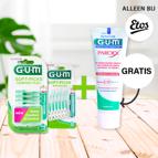 Koop Soft-Picks Comfort Flex/Advanced & krijg GUM® tandpasta