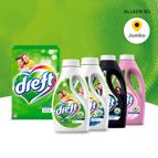 Dreft wasmiddel of waspoeder: van €3,25 - €6,19* voor €2,-