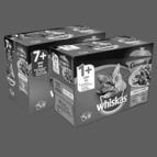 WHISKAS® Casserole 12-pack: van €4,99* voor €2,-