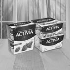 Alle Activia 4-pack varianten: van €1,99* voor €0,50