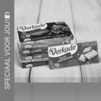 Verkade chocoladerepen: van €1,36 - €1,65* voor €0,50