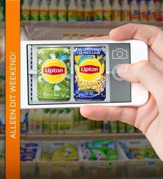 Check de Lipton sampling & verdien €1,50 + 100% cashback