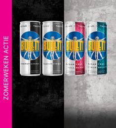 Bullit Energy Drink: alle varianten nu met 50% cashback