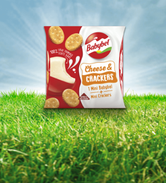 Babybel Cheese & Crackers: van €1,09* voor €0,50