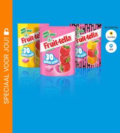 Fruittella 30% minder suiker: van €1,59* voor €0,50