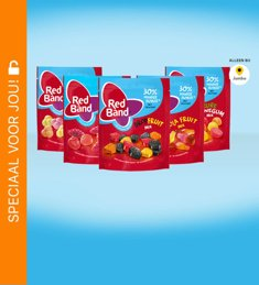 Red Band 30% minder suiker (Jumbo): van €1,79* voor €0,50