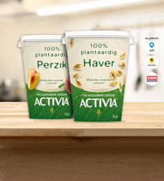 Activia 100% Plantaardig: van €2,19* voor €0,-