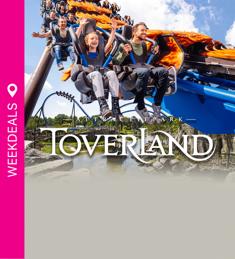 Dagje Toverland met 30% korting