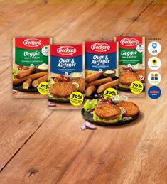 Beckers Veggie of Magere Oven snacks: van €2,99* voor €1,-