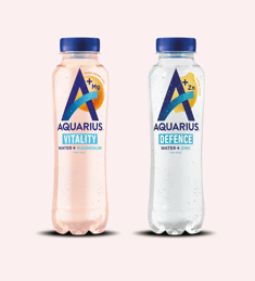 Aquarius Water + essential minerals: van €0,99* voor €0,50