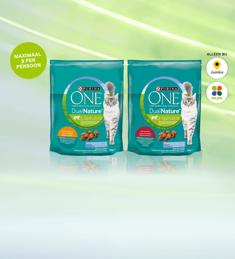 PURINA ONE® DualNature™: van €4,99* voor €1,-