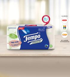 Tempo Natural & Soft zakdoekjes: van €2,89* voor €1,-
