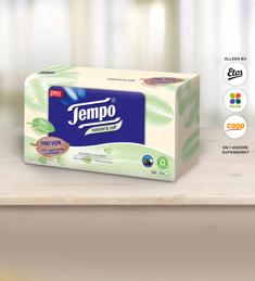 Tempo Natural & Soft tissuebox: van €1,89* voor €0,50