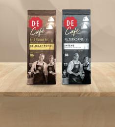 D.E Café Filterkoffie: van €3,75* voor €1,50