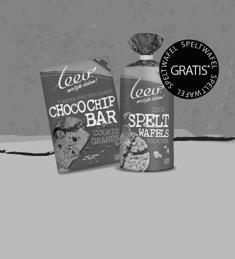 Koop LEEV Choco chip Cookiebar & krijg gratis Speltwafels