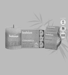 Bolsius zomercollectie: van €1,89 - €2,99* voor €1,-