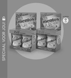 Mentos Gum mini Potjes Pure Fresh: van €1,99* voor €0,50