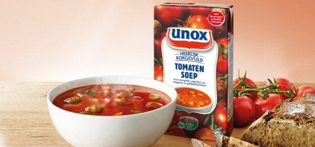 Tot €2,35* terug op Unox Soep in Pak