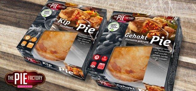 100% geld terug: The Pie Factory Pie's
