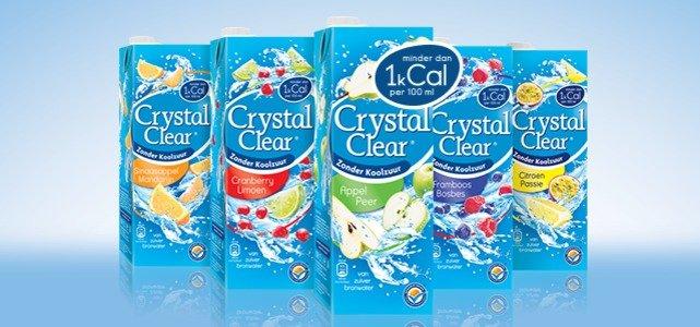 100% geld terug: Crystal Clear in pak