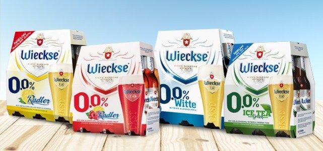 Alle 6-packs Wieckse 0.0% voor maar €1