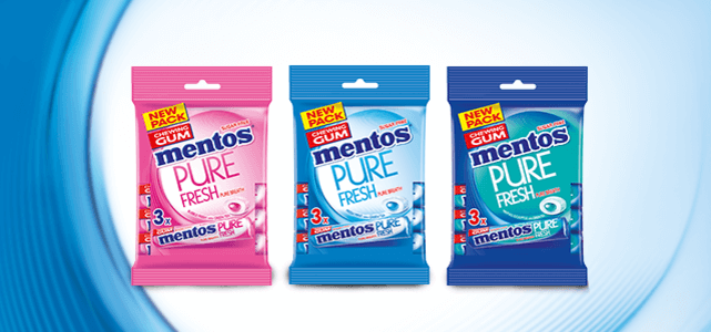 Mentos kauwgum: van €1,49* voor €0,50