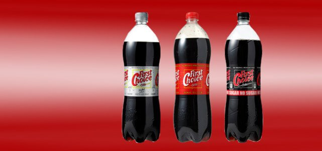 First Choice Cola 1,5 l: van €1,29* voor €0,50