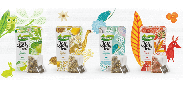 Pickwick Joy of Tea: van €1,99* voor €1
