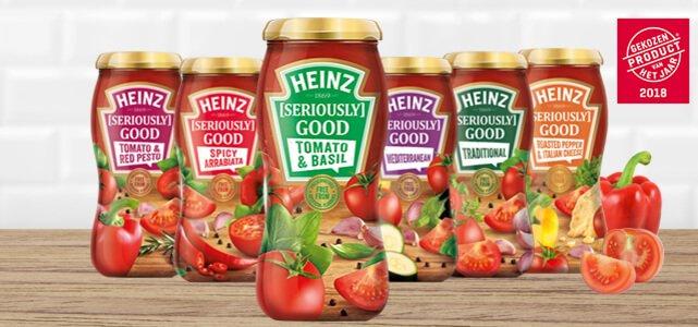 Heinz [Seriously] Good Pastasauzen: van €2,49* voor €1