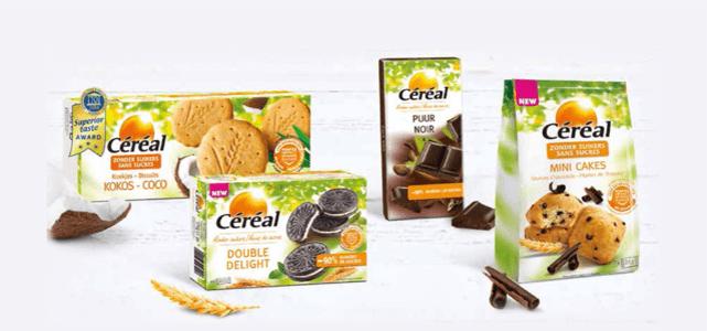 Céréal Suikerbewust assortiment met 50% cashback