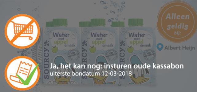 Sourcy water met Appelsmaak: van €1,59* voor €0