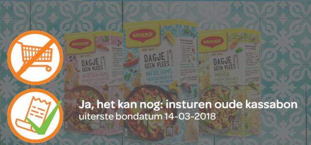 MAGGI Dagje Geen Vlees: van €1,29* voor €0