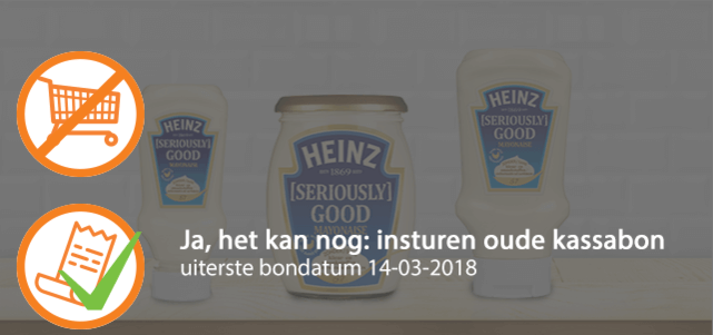 Heinz [Seriously] Good Mayonaise: van €2,29* voor €1