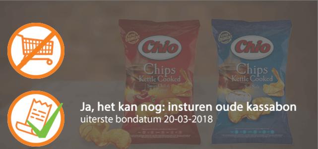 Chio Chips Kettle Cooked: van €1,39* voor €0,50