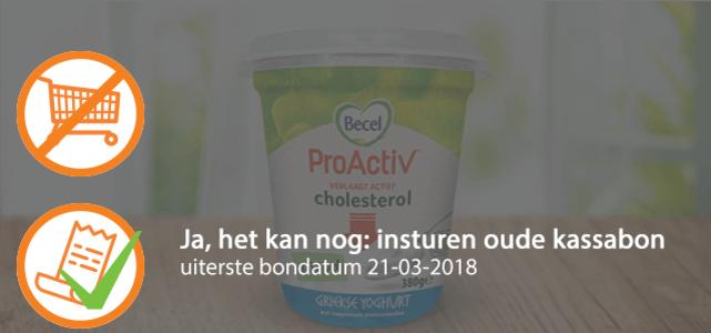 Becel ProActiv Griekse yoghurt: van €2,19* voor €1