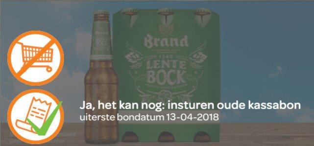 Brand Lentebock: van €5,99* voor €2,99
