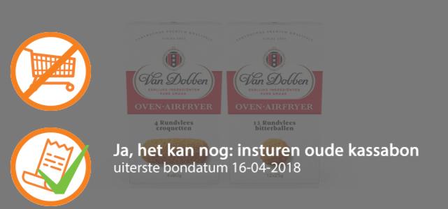 Oven Rundvleescroquet of -bitterbal: van €3,69* voor €1,50