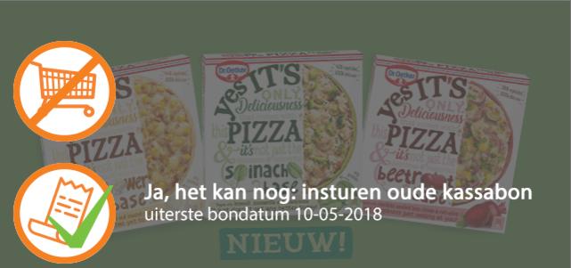 Dr. Oetker Yes It's PIZZA: van €3,39* voor €1,50