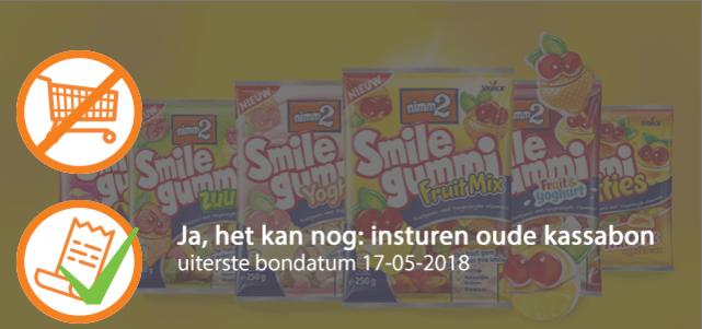 nimm2 Smilegummi: van €1,59* voor €0,75