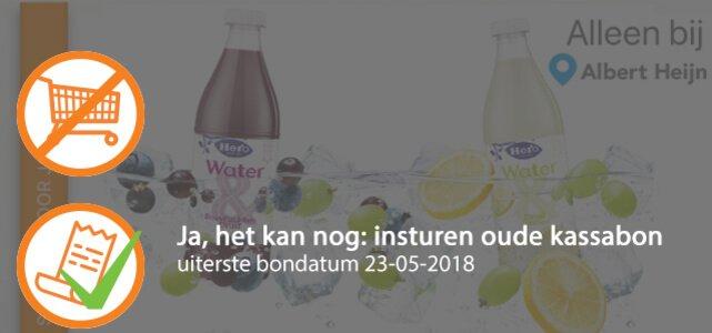 Hero Water &: van €1,59* voor €0,50
