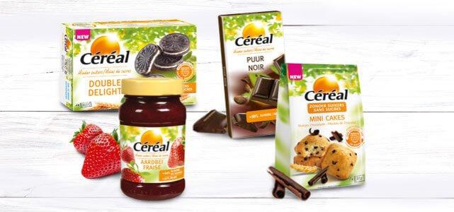 Céréal Suikerbewust assortiment voor €0,50